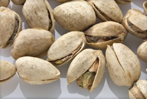 Picture of mold on pistachios